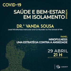 Webinar Covid19 Saude e Bem-estar em isolamento 29-04-2020
